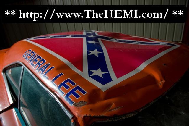 General Lee Car >> General Lee-roof